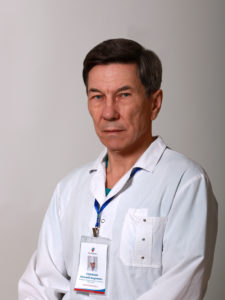 Голубкин  Евгений Андреевич врач-уролог , заведующий урологическим отделением, Опыт работы 36 лет