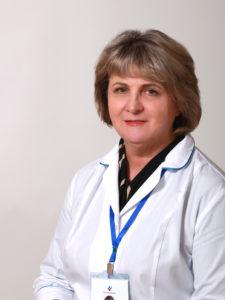 Степанова  Людмила Витальевна Врач-рентгенолог опыт работы  39 лет