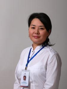 Умарова Розалия Аскаровна врач-терапевт терапевтического отделения. Опыт работы 8 лет.