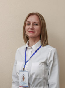 Аверина Юлия Владимировна, врач-рентгенолог кабинет КТ диагностики.