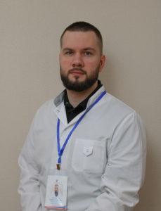 Кузьмичев Кирилл Юрьевич, врач-рентгенолог кабинет МРТ диагностики.
